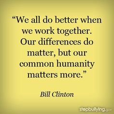 bill clinton quotes, best, famous, sayings, we work