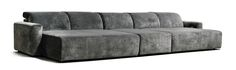 large cinema daybed, grey velvet daybed, home cinema seating, home theatre seating