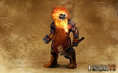 Fortress Fire Giant | Might & Magic® Heroes 7