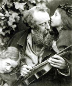 'The Whisper of the Muse' is a Victorian portrait of painter George Frederic Watts by Julia Margaret Cameron.