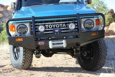 I'd love to get a cattle pusher like that for the truck. With the winch obviously :D
