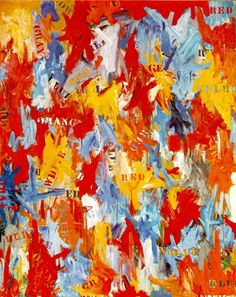 by Jasper Johns in 1959. David Geffen sold this painting to Kenneth C. Griffin in 2006.