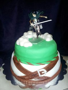 I have friend who wouldn't even eat the cake, she'd just stare and admire levi