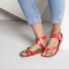 0e46b4077e Yara Birko-Flor Graceful Ocean | shop online at BIRKENSTOCK Birkenstock  Yara Sandals, Sexy
