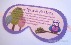 ScrapChique: Muitas corujinhas na Festa do Pijama da Ana Luiza