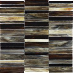 We have great pricing on the Baroque Series by Tesoro/International Wholesale Tile. Shop online or call for more information. Mosaic Wall, Mosaic Glass, Glass Tiles, Wall Tiles, Dark Brown Cabinets, Tiffany Stained Glass, Stone Tiles, Porcelain Tile
