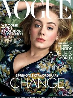 ADELE – VOGUE MARCH 2016