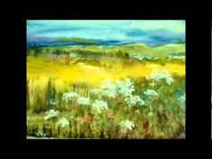 WATERCOLOR PAINTING SUMMERTIME By MILLIE GIFT SMITH - YouTube