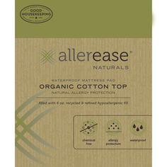 Naturals Organic Cotton Waterproof Mattress Pad