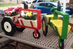 John Deere and Case/IH Tractors