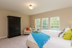 Spacious Master Suite in our Chesterton community in Chesterfield, MO.