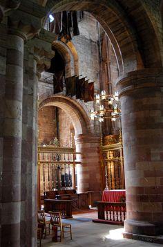 Carlisle Cathedral . Cumbria, England