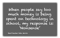 La introducción de la tecnología en la educación es un camino sin retorno. [16/09/15]