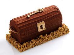 """""""Bûche de Noël"""" (french traditional Xmas cake) by Christophe Michalak, Paris (France)"""