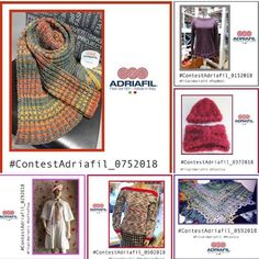 "#ContestAdriafil: it's time to vote, until January 23rd! Scarves, hats, pullovers, lots of ideas made in #Adriafil yarn! ;) Now it's time to vote, you can ""like"" and / or share the photo you like in the album #ContestAdriafil on our Facebook page: http://bit.ly/ContestAdriafil"
