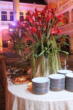 cena de gala IAWA, congreso en casco antiguo by: butterfly events panama