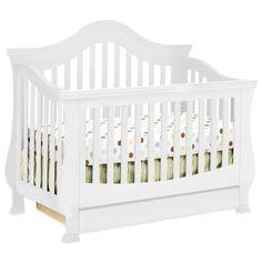 Graco Suri 4-in-1 Convertible Crib, White | Convertible crib