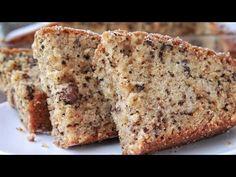 Αφράτο Κέικ με Καρύδια (ΣΑΝ ΚΑΡΥΔΟΠΙΤΑ) - Walnut Cake - YouTube Cupcake Cakes, Cupcakes, Cookie Frosting, Sweet Recipes, Banana Bread, Muffins, Sweets, Snacks, Fresh
