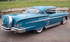 Chevrolet Impala, 1958 Chevy Impala, Chevrolet Caprice, 1955 Chevrolet, Vintage Cars, Antique Cars, Antique Trucks, Models Men, Automobile