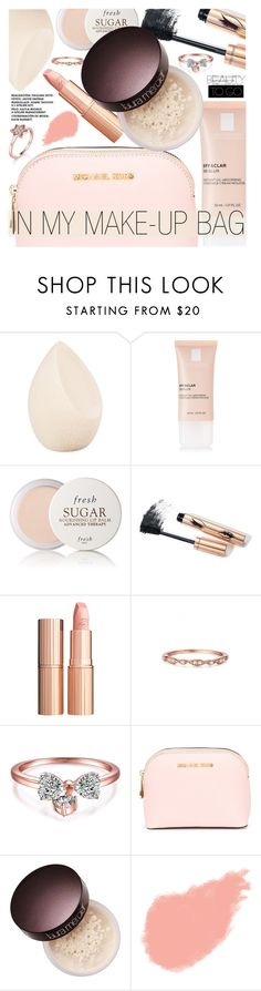"""""""Beauty on the Go"""" by metisu-fashion ❤ liked on Polyvore featuring beauty, Christian Dior, La Roche-Posay, Fresh, Charlotte Tilbury, MICHAEL Michael Kors, Laura Mercier, Bobbi Brown Cosmetics, BeautyTrend and travelbeauty"""