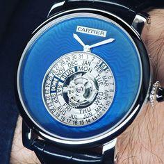 Rotonde de Cartier Astrocalendaire Tourbillon #watchoftheday #watchmaking #watchmaker #watch #relógio #relojoaria #orologeria #tempo #orologio #time #timepiece #cartier #rotonde #tourbillon #turbilhão #astrocalendaire #perpetual #calendar #calendário #perpétuo by andremadrid