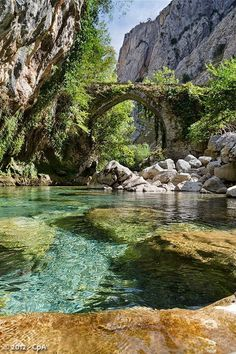 Spain Travel Inspiration - River Cares. Asturias, Spain Buy air tickets: | http://2track.info/Jl1s/