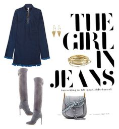 """Untitled #241"" by mrssofia on Polyvore featuring Sergio Rossi, Chloé, Marques'Almeida and Kendra Scott"