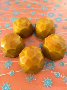 Maine Honey Ginger Nougat Bonbons - think of this as a Charleston Chew for #localvores - tasty!