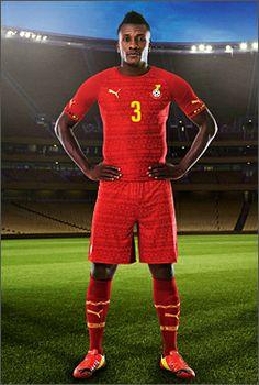 Ghana Away Kit 2014