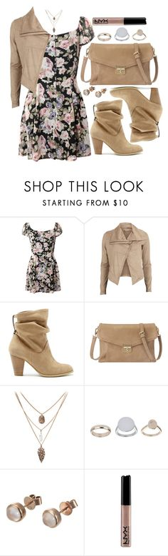 """""""Untitled #3566"""" by natalyasidunova ❤ liked on Polyvore featuring moda, Object Collectors Item, Sole Society, Nine West, Topshop, London Road, NYX, women's clothing, women's fashion e women"""