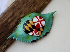Crab Shell Art Maryland Chesapeake Bay Baltimore Blue by ItsArtHon, $14.99