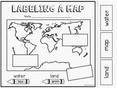 Map Worksheets for Kindergarten. Map Worksheets for Kindergarten. Signs and Symbols Social Studies Worksheets, Map Worksheets, Kindergarten Social Studies, 1st Grade Worksheets, Social Studies Activities, Kindergarten Science, Teaching Social Studies, Kindergarten Worksheets, Printable Worksheets