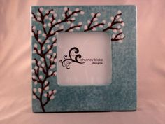 Willows Frame by chutneyblakedesigns on Etsy, $29.50