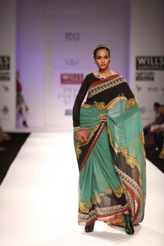 """Wills Lifestyle India Fashion Week AW '13"" Day 3 by Rajdeep Ranawat #Fashion #WillsLifestyle"