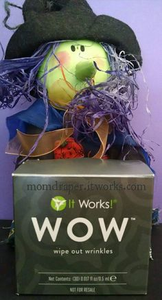 What if I told you you can Wipe out Wrinkles in 90 seconds? Would you jump on it? Well you can. Results last 8 hours. Great for going out on the town and looking amazing! Get yours at momdraper.itworks.com