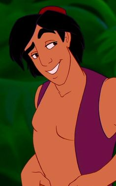 "Aladdin is my favorite ""prince"""