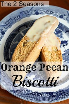 Biscotti - perfect for dunking into your favorite hot beverage. Italian Cookie Recipes, Sicilian Recipes, Italian Cookies, Italian Desserts, Sicilian Food, Italian Meals, Pecan Biscotti Recipe, Biscotti Cookies, Almond Cookies