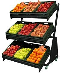 Bildergebnis für retail vegetable display