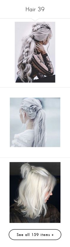 """""""Hair 39"""" by enchantedrose33 ❤ liked on Polyvore featuring hair, hairstyles, pictures, beauty products, haircare, hair color, people, accessories, hair accessories and hair styling tools"""