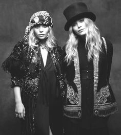 #Headwear by the Olsen #Twins ~ #MeAndMyGirlfriends #BlackAndWhite
