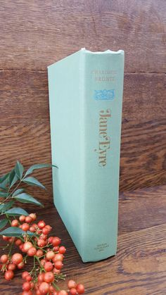 PRICE DROP- Jane Eyre by Charlotte Bronte, a 1950's Vintage Book Green/Teal Copy by VintageAmericanLife on Etsy