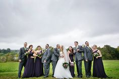 DeMuth-Eggleston Wedding Photo By Visions by Heather Fun wedding party shot