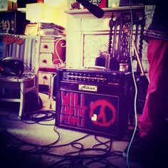 Will And The People did a session with us. Here is their amp. :) more coming to St Pauls Lifestyle The St, Guitar, Home Appliances, Lifestyle, Studio, Amp, People, House Appliances, Appliances