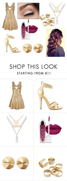 """""""Untitled #363"""" by ray-dany ❤ liked on Polyvore featuring Shoe Republic LA, Jules Smith, Eddie Borgo, women's clothing, women's fashion, women, female, woman, misses and juniors"""
