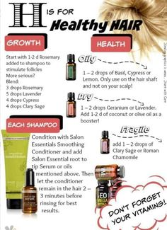 Using oils in hair