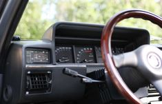 The dashboard of the Fiat Argenta- 1985 Open Field, The Rev, Fiat, Acting, Cars, Autos, Car, Automobile, Trucks