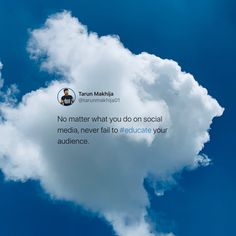 Social media tips.  #TarunSpeaks #socialmediatips #digitalmarketing Positive Vibes Only, Social Media Tips, Digital Marketing, Branding, Positivity, Education, Photo And Video, Life, Instagram