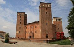 Fossano Castle. Begun by Philip of Savoy (1278-1334) in 1314 and finished in 1332. One century later Amadeus VIII of Savoy (1383-1451) turned it into a ducal residence