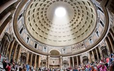 9: Pantheon, Rome  Picture: ALAMY