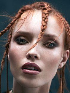 #Mekaup hair#